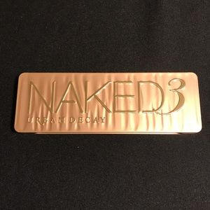 Urban decay naked 3 eyeshadow palette like new